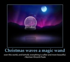 Christmas magic-inspirational message important things in life-seven wonders