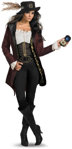 PartyBell.com - Pirates Of The Caribbean - Angelica Prestige Adult #Costume