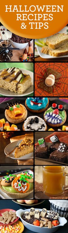 Halloween Recipes and Tips