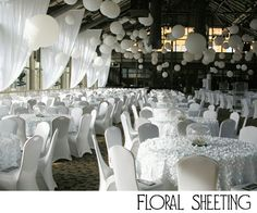 Hot Trend for 2012 Weddings: The Hottest Event Product You've Never Heard Of: Vinyl #Floral Sheeting #Trend #Wedding #Product #Event #Birthday #Reception