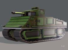 Tank V01 | 3D model