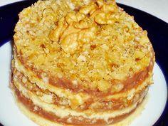"Prajitura"" Superba"" Romanian Desserts, Romanian Food, Romanian Recipes, Nutella, Macaroni And Cheese, Sweet Treats, Good Food, Dessert Recipes, Snacks"