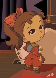 Studio Ghibli: Arrietty Art Card by kevinbolk.deviantart.com. STUDIO GHIBLI. Pinned by Stephy Sama