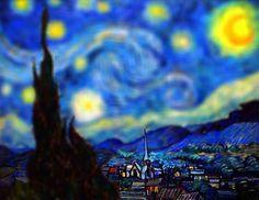Tilt-Shift em Van Gogh