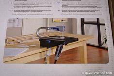 La scie à chantourner Dremel Moto-Saw | TravaillerLeBois.com Accessoires Dremel, Dremel Saw, Desk, Furniture, Home Decor, Woodwind Instrument, Desktop, Decoration Home, Room Decor