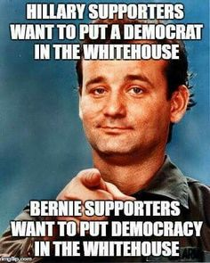 Hillary's supporters haven't even figured out that she's a Republican in all but social issues...look at her platform : Pro-fracking - pro-GMO - pro-private prison - opposes Wall St. regulation - pro-TPP - war hawk - keystone xl .....