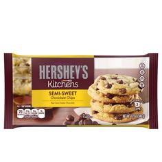 Milk Chocolate Chip Cookies, Semi Sweet Chocolate Chips, Chocolate Flavors, Melting Chocolate, Cracker Brands, Baked Chips, Organic Sugar, Lactose Free, Sugar Free
