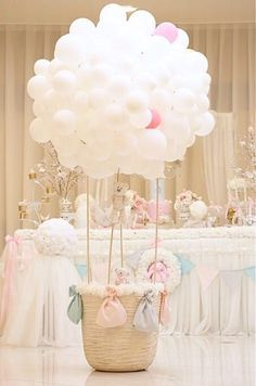 Baby Girl Shower Ideas - princess girl baby shower ideas girl * ideas for ba - Girl Baby Shower Decorations, Party Decoration, Balloon Decorations, Birthday Decorations, Baby Shower Themes, Girl Decor, Shower Ideas, Balloon Ideas, Deco Baby Shower