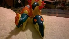 2nd Gen Fire Pokemon Starters Typhlosion Models