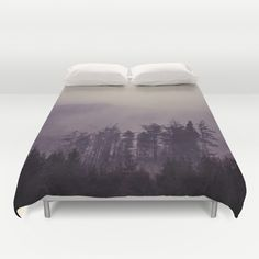 Mystic Trees Duvet Cover by mariecarrphotography Mystic, Mattress, Duvet Covers, Trees, Bed, Furniture, Home Decor, Decoration Home, Stream Bed