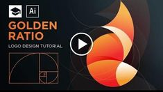 How to design a logo with golden Ratio #3 Adobe Illustrator Tutorial