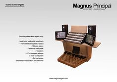 Are you looking for a home organ? If so, Magnus Principal might be exactly what you need. This perfect home organ is available both as a stand-alone organ or as a MIDI console. Nicely designed, light, easy to fit through any apartment door, it comes in 2-,3- and 4-manual versions. And the pricing? More than friendly! We deliver to any country in the world, with official resellers in the UK, Sweden and Nigeria! Send a private message or e-mail us at: info@magnus-organy.eu