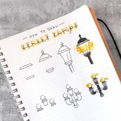 Learn How to Doodle With These Easy Tutorials - Beautiful Dawn Designs aesthetic dark easy Bullet Journal Banner, Bullet Journal Aesthetic, Bullet Journal Notebook, Bullet Journal Ideas Pages, Bullet Journal Inspiration, Bullet Journal Materials, Journal Diary, Bullet Journals, Doodle Drawings