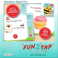 Articulation Station Pro - The perfect app for perfect speech. Full review at: http://fun2tap.com/index.cfm#id2139 --------------------------------------  #kids  #apps #KidApps #iosApps  #education #edtech  #parenting #tech #education #homeschool #edtech #mlearning #ipad #mobilelearning