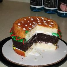 Hamburger cake. It turned out pretty awesome!