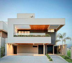Stunning Modern Mansions – Modern Home Contemporary Architecture, Architecture Design, Contemporary Homes, Modern Villa Design, House Front Design, Modern Mansion, House Elevation, Facade House, Exterior Design