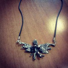 Demon soldered necklase