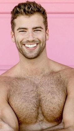 Beautiful Men Faces, Beautiful Smile, Gorgeous Men, Hairy Hunks, Hairy Men, Sexy Men, Hot Men, Sexy Guys, Cute White Guys