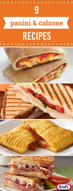 Panini & Calzones Recipes – These rich, cheesy delights have all the flavor you've been searching for plus more. The panini recipes are sure to wow and amaze! After all, who doesn't enjoy a flavorful pizza calzone or grilled sandwich recipe?