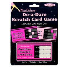 Do a Dare Scratch Cards
