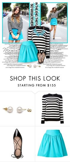 """Nothing worth having comes easy"" by l33l ❤ liked on Polyvore featuring Yves Saint Laurent, Kate Spade and Moschino"