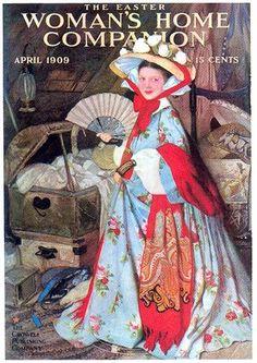 "Easter ""Woman's Home Companion"", magazine cover, April 1909"