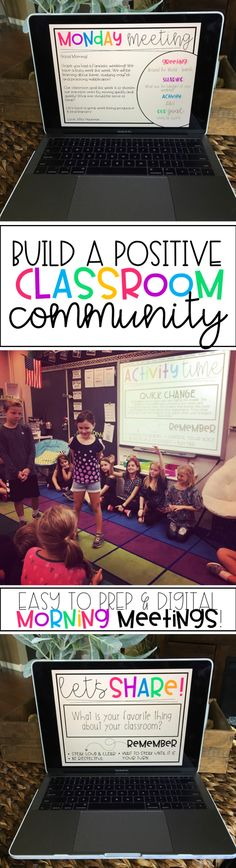 Class Meetings – Build a Positive Classroom Community! Build a positive classroom community in your classroom by spending 15 minutes each day celebrating your students [. 3rd Grade Classroom, Classroom Community, Future Classroom, School Classroom, Classroom Ideas, Classroom Libraries, Classroom Inspiration, Classroom Expectations, Classroom Behavior