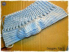 Crochet For Kids, Crochet Baby, Knit Crochet, Knitted Booties, Baby Knitting Patterns, Crochet Stitches, Handmade, Tutorial, Calzino