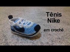 Tênis Nike em crochê - YouTube