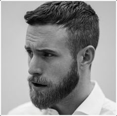 40 Must Copying Hairstyles For Men With Beard - Men's Fashion 2016