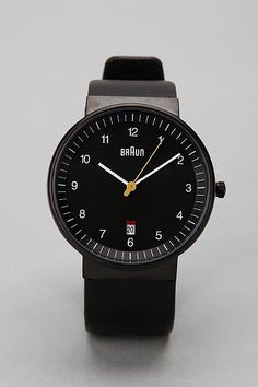 Braun Date Watch