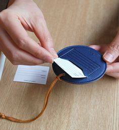 The *Round Leather Luggage Tag v2* is a well made and beautiful luggage tag! The Round Leather Luggage Tag v2 is made with beautiful synthetic leather with vibrant colors to help you distinguish your luggage quickly! You can write your name and in...