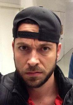 Grumpy Zachary Levi