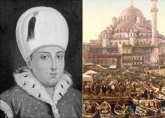 """""""Sultán Osman II y recreación de la capital del imperio, Constantinopla"""""""