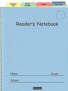 Readers notebook cintinative