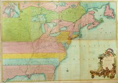 Image of A Map of the British and French Dominions in North America: With the Roads, Distances, Limits, and Extent of the Settlements...