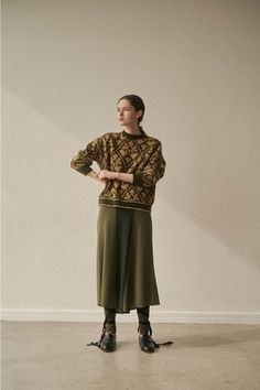 Knit Fashion, Fashion Days, Fashion 2020, Fashion Outfits, Womens Fashion, Daily Look, Mode Inspiration, Knitwear, Women Wear