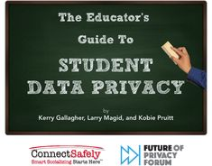 The Educator's Guide to Student Data Privacy Teaching Technology, Technology Tools, Digital Data, Student Data, Digital Citizenship, What Really Happened, Vulnerability, Communication, Management