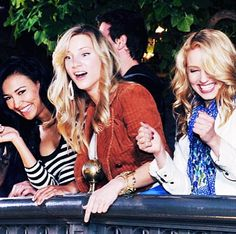 Naya, Heather and Dianna - The Unholy Trinity. . . I wish I could have friends like this