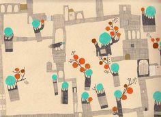 free illustration | Nahid Kazemi | ناهید کاظمی