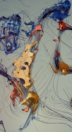 Latency of dynamics by Oleg Soroko on Behance.More 3D art here.