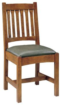 Stickley Cottage Side Chair 89/91-323-S - craftsman - Dining Chairs - Other Metro - Stickley Furniture