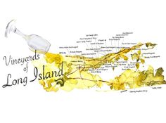 Watercolor vineyards of Long Island--some of my favorite places