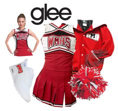 """glee cheerios"" by itsjaidyn ❤ liked on Polyvore featuring NIKE"