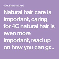 Hair Care Is Vital To Your Hair Success If You Want To Grow It Long. - Natural hair care is important, caring for - Hair Loss Treatment Dark Curly Hair, 4c Natural Hair, 4c Hair, Natural Hair Growth, Natural Hair Styles, Blonde Hair Care, Curly Hair Care, Hair Growth Cycle, Hair Growth Oil
