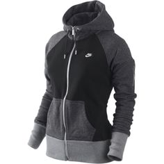 Designer Clothes, Shoes & Bags for Women Lazy Outfits, Nike Outfits, Sport Outfits, Workout Outfits, Cute Athletic Outfits, Athletic Wear, Nike Zip Up, Vogue, Comfy Hoodies