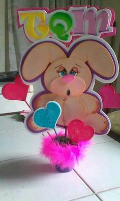 Foam Crafts, Fun Crafts For Kids, Projects For Kids, Valentines Surprise, Valentine Gifts, Gata Marie, Love Days, Candy Bouquet, Ideas Para Fiestas