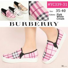 Burberry Slip On YC339-31 35-40 275rb