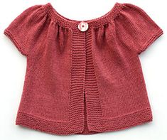 Ravelry: Kina (short+ long sleeved version) pattern by Muriela