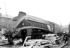 Steam Trains Uk, Steam Railway, Mallard, Steam Engine, Steam Locomotive, Film Camera, Newcastle, Vintage Travel, Transportation